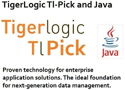 TigerLogic Tl-Pick and Java. Proven technology for enterprise application solutions. The ideal foundation for next-generation data management.